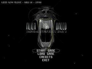 alienbreed obliteration wii menu screenshot